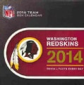 Washington Redskins 2014 Calendar (Calendar)