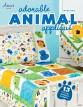 Adorable Animal Applique (Paperback)