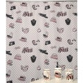 Boudoir Pink Shower Curtain Bath Accessory Set