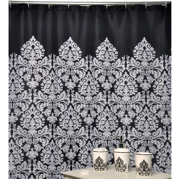 Essence Black Bath Accessory 16-piece Set