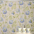 Refresh Shower Curtain and Bath Accessory 16-piece Set