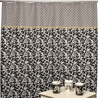 Waverly Angelique Nightfall Shower Curtain and Bath Accessory 16-piece Set