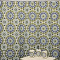 Waverly Solar Flare Lime/ Indigo 16-piece Bath Set