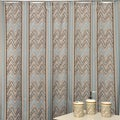 Trend Spotter Shower Curtain and Bath Accessory 16-piece Set