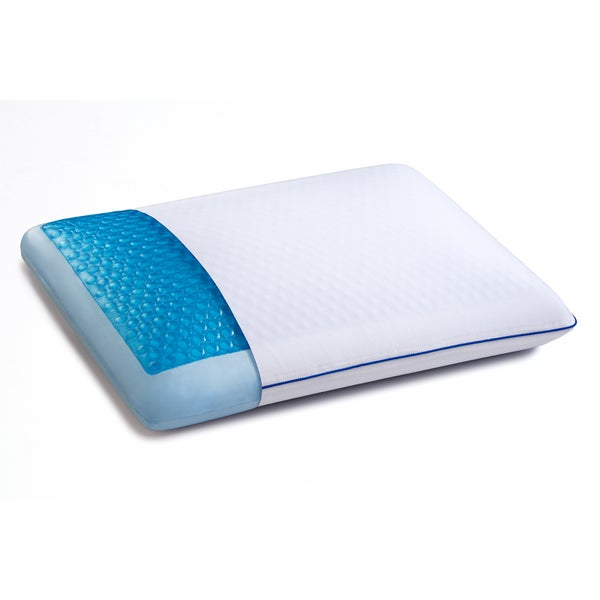Bodipedic Reversible Memory Foam Pillow with CoolGel HD