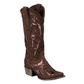 Lane Boots Women's 'Poison' Leather Cowboy Boots