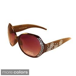 Women's Round Rhinestone Sunglasses