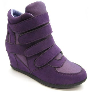 Blue Children's 'K-Kris' Purple Wedge Shoes