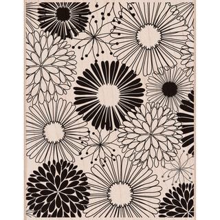 "Hero Arts Mounted Rubber Stamps 4.5""X3.75""-Everything Flowers"