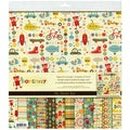 "Boy Crazy Paper & Accessories Kit 12""X12""-"
