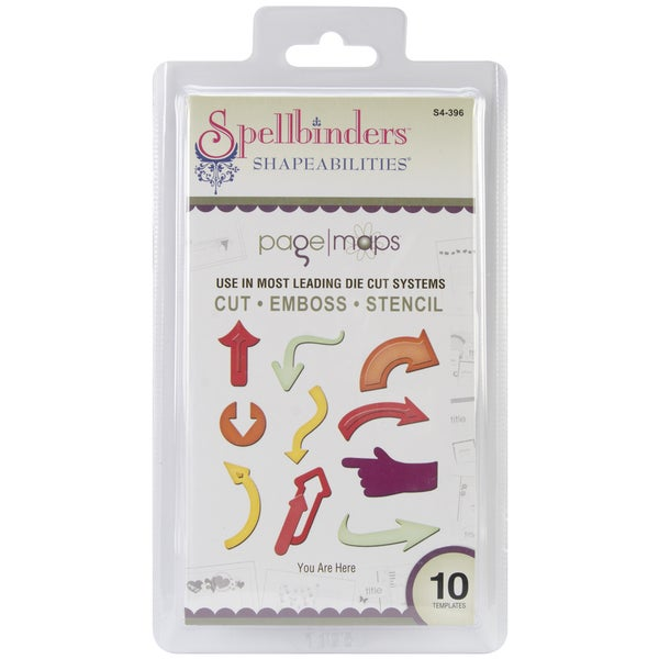 Spellbinders Shapeabilities Dies-You Are Here