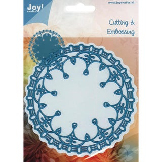 Joy! Craft Cut &amp; Emboss Dies-Round Doily 2, 4.75&quot;