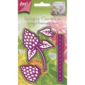 "Joy! Craft Dies-Fantasy Flowers 3D/Style 1, 3.5""X2.5"""