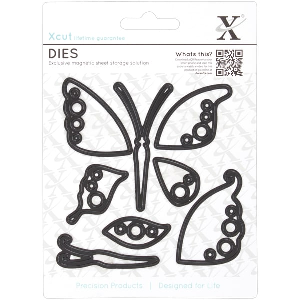 Xcut Decorative Dies-Butterflies