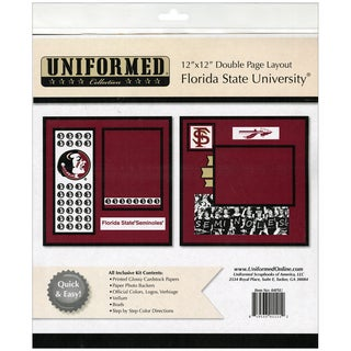 "Collegiate 12""X12"" 2 Page Spreads-Florida State"
