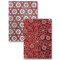 Spellbinders M-Bossabilities A2 Card Embossing Folder-Dotted Flowers