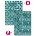 Spellbinders M-Bossabilities A2 Card Embossing Folder-Infinity
