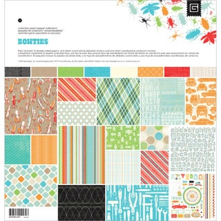 "Knee Highs & Bow Ties Collection Pack 12""X12""-Bow Ties"
