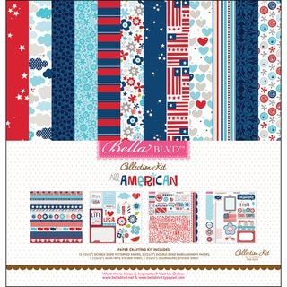 All American Collection Kit 12&quot;X12&quot;-