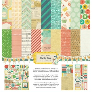 "Party Day Collection Kit 12""X12""-"