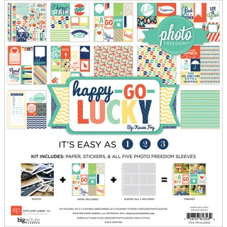 "Photo Freedom Happy Go Lucky Collection Kit 12""X12""-"
