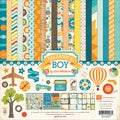 "All About A Boy Collection Kit 12""X12""-"