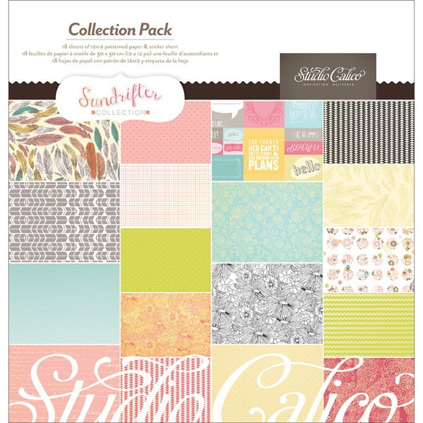Sundrifter Collection Pack 12X12in