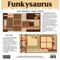 "Funkysaurus Double Page Kit 12""X12""-Doing What Guys Do & Happy Times"