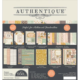 "Grace Papercrafting Kit 8""X8""-"