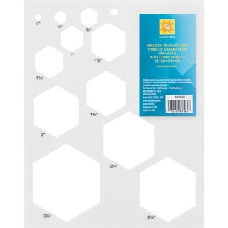 Hexagon Template Sheet-