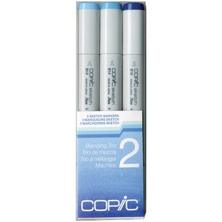 Copic Sketch Blending Trio Markers 3/Pkg-2