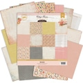 "Cottage Farms Double-Sided Paper Pack 12""X12"" 24/Sheets-12 Designs/2 Each"