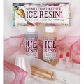 ICE Resin 8oz Doming Kit-4 Oz Resin/4 Oz Hardener, Mix Cups/Stick