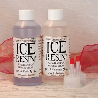 ICE Resin 16oz Refill Kit-8 Oz Resin/8 Oz Hardender