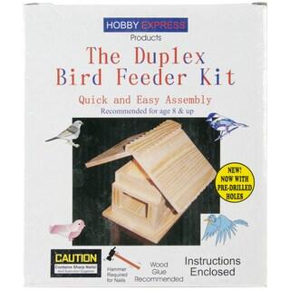 Duplex Bird Feeder Kit-Unfinished