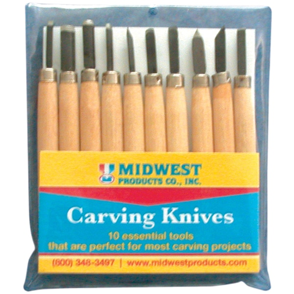 Carving Knive Set 10 Pieces-