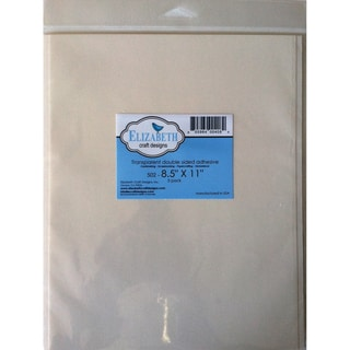 "Elizabeth Craft Double Sided Adhesive 8.5""X11 Sheet 5/Pkg-"