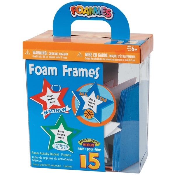 Foam Kit Makes 15-Picture Frames