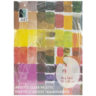 "Art Alternatives Palette 10""X14""-Clear Oval"