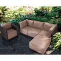 Park Island Brown Armchair