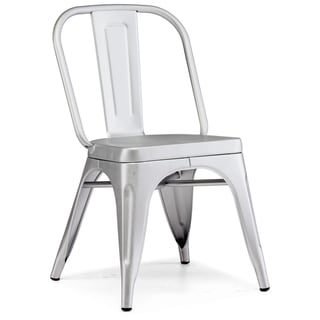 Token Brushed Aluminum Chair