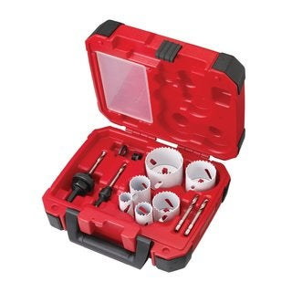 Milwaukee 10-Piece Electricians Ice Hardened Hole Saw Kit