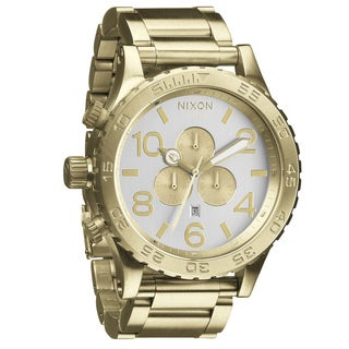 Nixon Men's '51-30 Chrono' Goldtone Watch