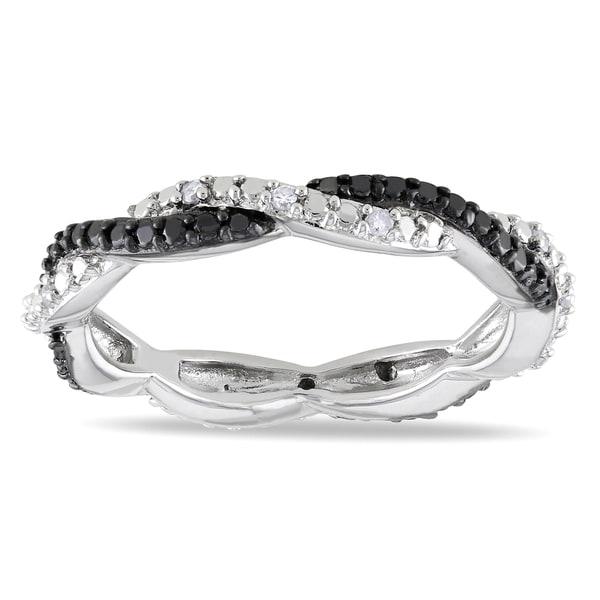 Miadora Sterling Silver Diamond Ring (H-I I2-I3)