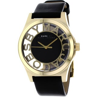 Marc Jacobs Women's MBM1246 'Henry' Skeleton Black Watch