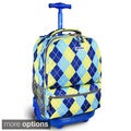 J World Sunshine 18-inch Rolling Backpack