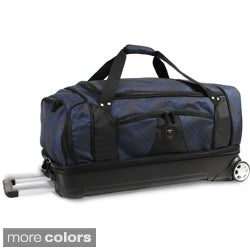 J World 'Fairman' 28-inch Drop Bottom Rolling Upright Duffel Bag