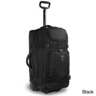 J World 'Vinewood' 25-inch Rolling Upright/ Duffel Drop Bottom Suitcase