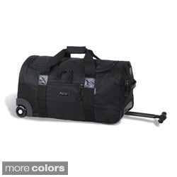 J World 'Tamarak' 22-inch Carry-on Rolling Upright Duffel Bag