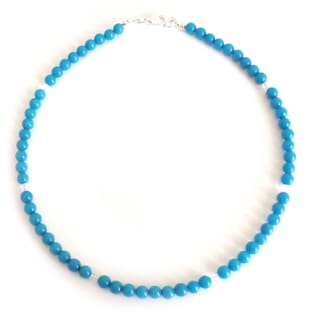 Every Morning Design Blue Mountain Jade Necklace